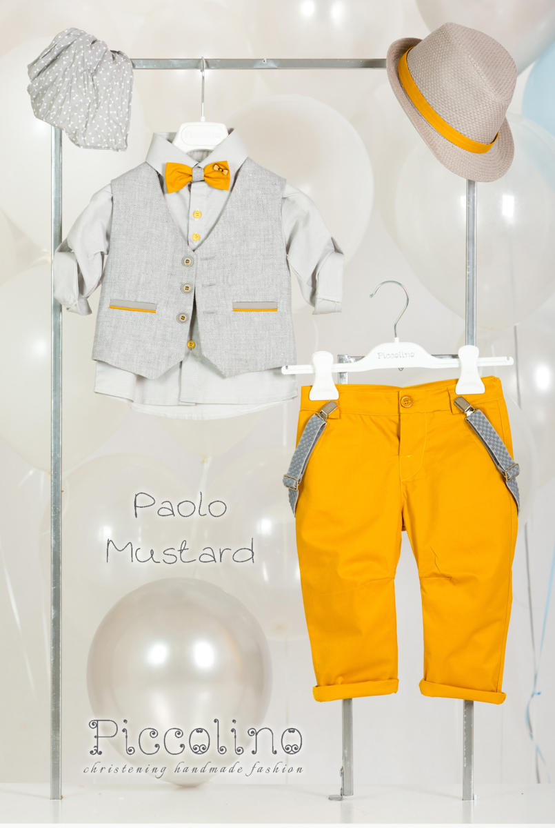 AG20S17 PAOLO MUSTARD