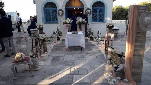 Στολισμός γάμου Άγιοι Απόστολοι Κάλαμος
