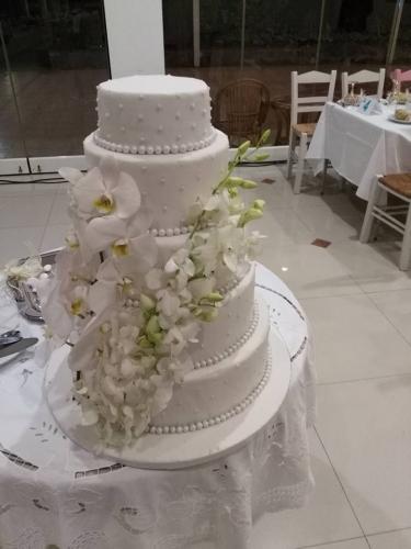 λουλούδια τούρτας