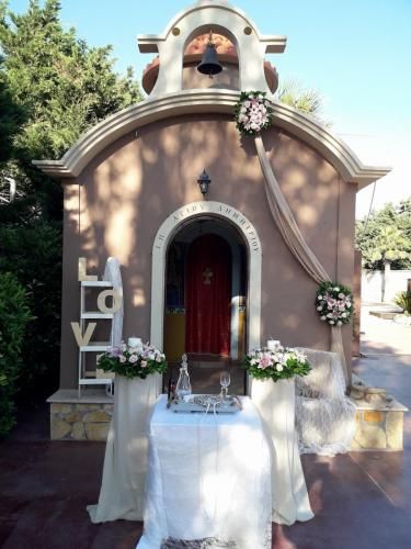 Στολισμός εκκλησάκι