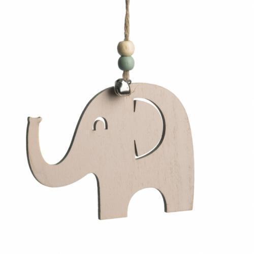 ξύλινο-κρεμαστό-ελεφαντάκι