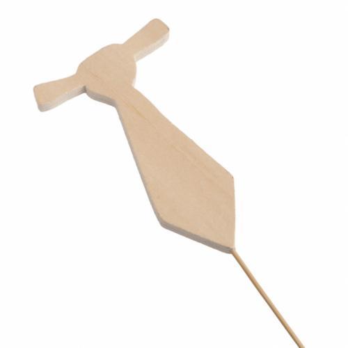 ξύλινο-stick-γραβάτα
