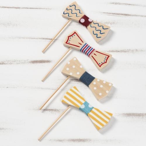 ξύλινο-stick-παπιγιόν-ζωγραφιστό