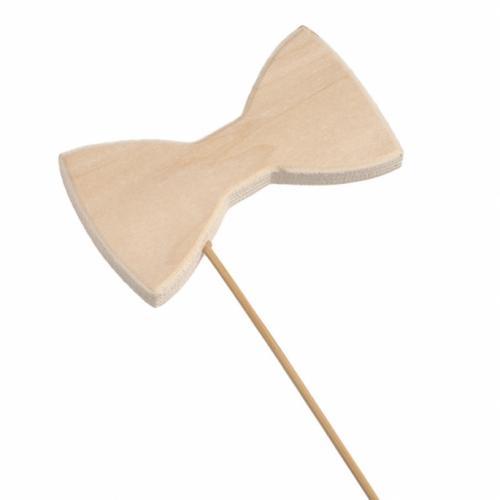 ξύλινο-stick-φιόγκος