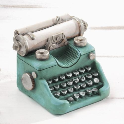 κουμπαράς-γραφομηχανή