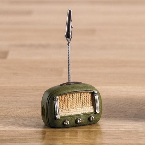 χαρτοστάτης-ραδιόφωνο-ρετρό