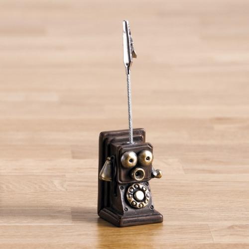 χαρτοστάτης-τηλέφωνο-ρετρό